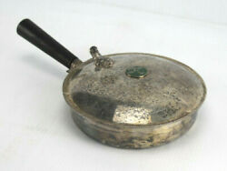 Antique Fb Rogers 1883 Silverplate Pine Tree Silent Butler Crumb Catcher