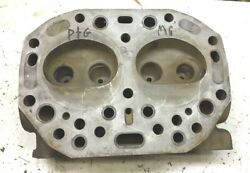 Used John Deere 520 530 Tractor Engine Cylinder Head B3741r Pro Checked No Crack