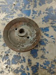 Wheel Horse 48 Mower Deck Outer Spindle Pulley Used