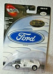 Limited 100 Hot Wheels Ford Series Ford Gt-40