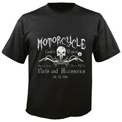 T-shirt Motorcycle Speed Shop Parts An Accessories Los Angeles Usa Bikershirt
