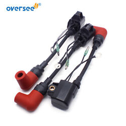 3 Pcs/1 Set Ignition Coil Assy 697-85570 For 2t 75hp Yamaha Outboard 6h2-85570-0