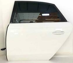 Rear Door Audi A8l 11 12 13 14 15 16 17 18 Lh Driver Side Ibis White Ly9c