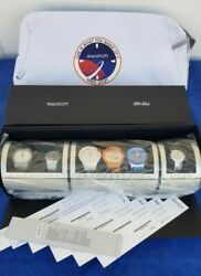 Only 800 Pcs. Swatch Nasa Special Set 6 Watches Szs32 + Certificate. Sold Out