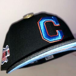 Cleveland Indians 2019 All Star Game Nba Crossover Fitted Size 7 3/8 Hat Club