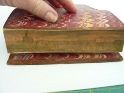 Fore-edge Painting The Poetical Works Of Thomas Chatterton. 2 Volumes