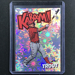 2021 Absolute Mike Trout Kaboom Ssp 2
