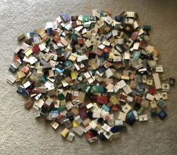 Vintage Matchbook Collection From All Over The World 584 Total No Duplicates