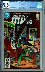 Tales Of The Teen Titans 52 Cgc 9.8 Wp 1st Azrael New Noncirculated Case Dc 1985