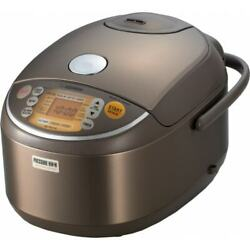 Zojirushi Pressure Ih Rice Cooker Automatic Start Stop Convenient 10cups New