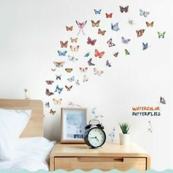 Butterfly Wall 3d Combination Stickers Diy Decals Home Cabinet Murals Decoration