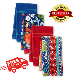 The Pioneer Woman Fiona Floral Kitchen Towels 16x28 Multi-color 8 Piece