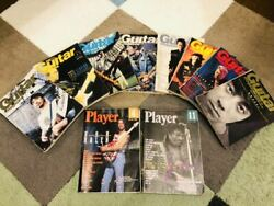 Guitar Magazine Player 10 Books Set From Japan