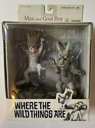 Todd Mcfarlane Toys - Where The Wind Things Are Max And Goat Boy
