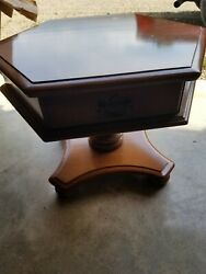 2 Ethan Allen Heirloom Maple End Tables