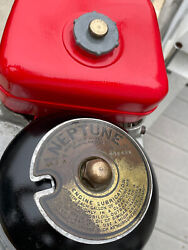 """Vintage 1957 Neptune """"mighty Mite"""" Aa1a 1.7 Hp Outboard Display Motor Usa"""