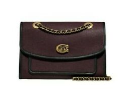New/tag 350 Coach Parker Bag. Convertible Chain Straps. Oxblood