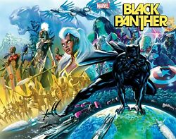 BLACK PANTHER #1 2021 Alex Ross Main Cover A 1st Print Marvel NM 11 10 PreSell