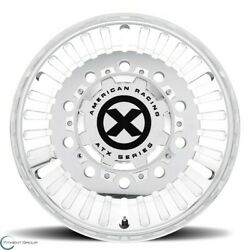 Set Of 4 New Atx Series Ao403 Roulette 24.5x8.3 10x285.75 -95 Polished - Rear