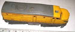 Lionel 2023 Union Pacific 1950s Diesel Alco Locomotive Chassis W/ Motor And Horn