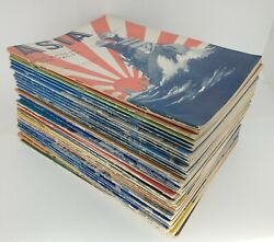Asia And The Americas Magazine Lot Of 41 Issues 1938 - 1946 Pearl S Buck