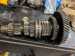 Ford 600 800 Tractor Transmission Main Lower Bottom Gears Gear And Shaft