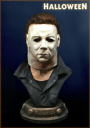 Halloween Michael Myers Life Size Bust Hollywood Collectibles New In Box