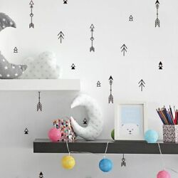 42pcs Wall Stickers Cartoon Arrow Nursery Decals Adhesive Removable Decoration
