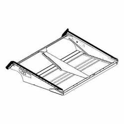 Sieve Shoe Frame Compatible With John Deere 9510 9500 9410 9400 9550 Cts 9560