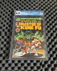 Special Marvel Edition Cgc 6.0 1st Appearance Shang-chi Master Of Kung Fu 🔥key