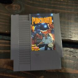 Punch-out Nes Nintendo Clean Tested Free Shipping