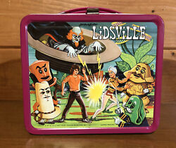 Vintage 1971 Sid And Marty Krofft Lidsville Metal Aladdin Lunchbox No Thermos