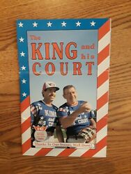 Eddie Feigner The Softball King Official King And His Court Program 1991