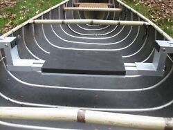 Canoe Accessory Seat Accepts Wheels, Pontoons, Row Arms, Leeboard