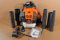 Used Husqvarna 150bt Backpack Blower Hand Throttle 2 Cycle Gas Powered Sdp565
