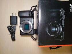 Sony Alpha A6300andnbsp Digital Camera - Black Body Only Excellent Condition