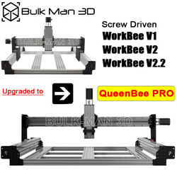 Upgrade Kit For Screw Driven Work-bee To Queenbee Pro Cnc Router Machine Mill