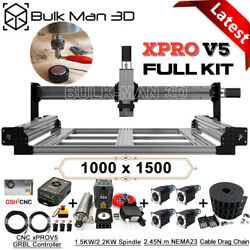 Xpro V5 Grbl Control 1000x1500mm Queenbee Pro Cnc Wood Router Machine Full Kit