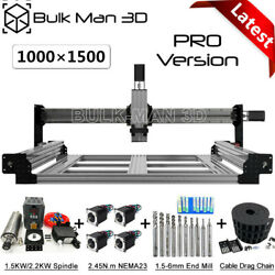 1015 Queenbee Pro Cnc Router Machine Mechanical Kit 4 Axis Wood Cnc Engraver