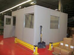 Modular Inplant Office System - 8' X 8' Or Built To Customer Spec