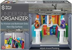 Expandable Under Sink Organizer And Storage