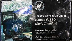 Edmonton Oilers Nhl Hockey Jersey Style Bbq Cover - Fits Most Barbecues