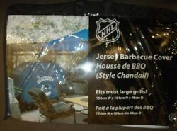 Vancouver Canucks Nhl Hockey Jersey Style Bbq Cover - Fits Most Barbecues
