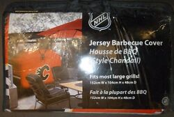Calgary Flames Nhl Hockey Jersey Style Bbq Cover - Fits Most Barbecues
