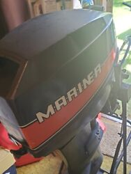 1984 2cyl 20hp Mariner Outboard Motor 20andrdquo Long Shaft