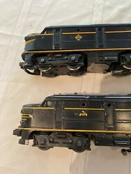 Lionel 2032 Erie Alco 027 Scale Bandy Diesel Tested Running And Dummy And Box Works