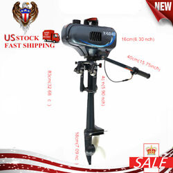Outboard Motor 2 Stroke 3.5hp Heavy Duty Boat Parts Engine Water Cooling System