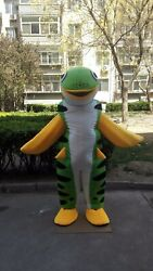 Fish Mascot Costume Cosplay Party Game Dress Outfit Advertising Christmas Adults