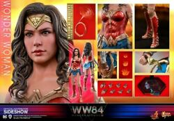 Pre Order Sale Hot Toys 1/6 Wonder Woman 84 1984 Sideshow Exclusive Edition