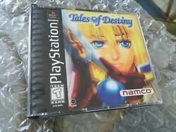 Tales Of Destiny 1 Ntsc Usa Playstation 1 Ps1 Psx Complete In Box Cib Rpg Namco